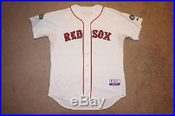 Ryan Kalish Boston Red Sox Game Used Worn Jersey, Fenway 100 & Pesky Patches