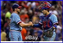 Spencer Patton Texas Rangers 2015 Game Worn Used Tbtc Jersey, Pants Cap (cubs)
