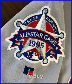 Sammy Sosa's 1995 Chicago Cubs All-Star Game MLB Game Worn Used Jersey Auto LOA