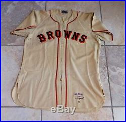 St. Louis Browns Game Used Worn 1948 Jersey Fred Sanford