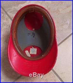 St. Louis Cardinals Game Used Worn Vintage Batting Helmet Tim McCarver