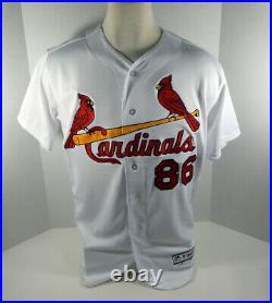 St. Louis Cardinals Patrick Wisdom #86 Game Issued Signed White Jersey
