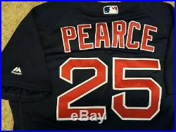 Steve Pearce Game Used Boston Red Sox 2018 Post Season Jersey MLB Authenticated