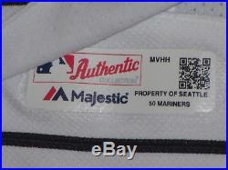 Stottlemyre sz 50 #30 Seattle Mariners GAME USED jersey 2016 KEN GRIFFEY JR. MLB