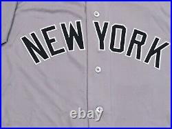 TARPLEY #71 size 46 2018 Yankees Game Jersey issued ROAD POST SEASON MLB HOLO