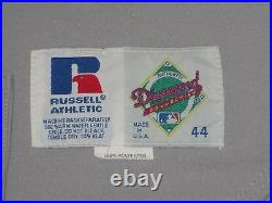 TONY LARUSSA HOF 1993 Oakland A's Athletics Game Used Jersey Road Gray #10 sz 44