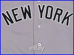 TORREYES #74 sz 42 2018 Yankees Game used Jersey ROAD POST SEASON MLB STEINER