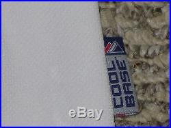 Taijuan Walker size 50 #32 game used 2015 Mariners Jersey Home White MLB