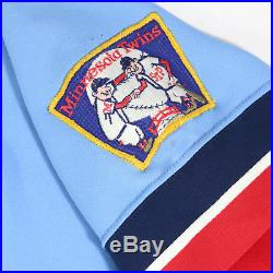 Tom Bruno Brunansky 1982 Signed Game Used Worn Minnesota Twins Jersey