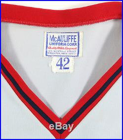 Tom Burgmeier 1978 Game Used Worn Boston Red Sox Vintage Road Jersey Uniform