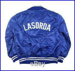 Tommy Lasorda 1980's Los Angeles Dodgers Vintage Game Used Worn Dugout Jacket