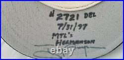 Tony Gwynn Hits 2719-2721, Auto'd game worn 1997 cap, Gwynn & Miedema auth'd