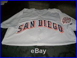 Tony Gwynn San Diego Padres Game Worn Used Worn 2001 Jersey Miedema Loa