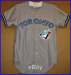 Toronto Blue Jays Mike Squires 1989 Game Worn Road Jersey