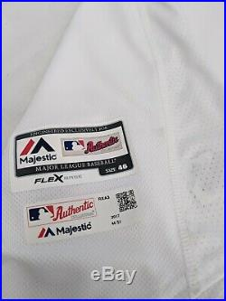 Tyler Danish #60 Chicago White Sox 2017 Team Issued 1983 throwback jersey sz 46