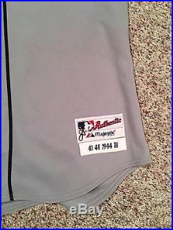 Victor Martinez Game Used/Worn TBTC Jersey Detroit Tigers Cleveland Indians