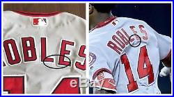 Victor Robles Game Used 2017 Washington Nationals Road Jersey Photomatched