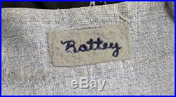 Vintage 1965 EARL BATTEY game used flannel MINNESOTA TWINS BASEBALL JERSEY
