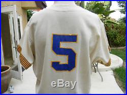 Vintage 1969 Don Mincher Rare 1 Year Style Seattle Pilots Game Used Jersey
