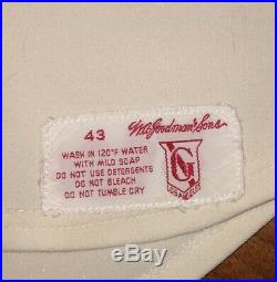 Vintage Dave LaRoche 1977 California Angels MLB Game-Worn Used Home Jersey #17