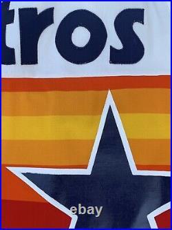 Vintage Houston Astros Game Worn Dave Roberts 1981-82 Jersey