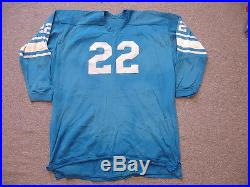 release date: 354f1 4990f Vintage Mid-1960s Detroit Lions #22 Bobby Layne Oldtimers ...