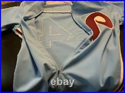 Vintage Philadelphia Phillies game used Pete Rose jersey. Rare