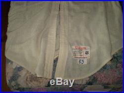 Vintage cleveland indians game used vest jersey wilson brand