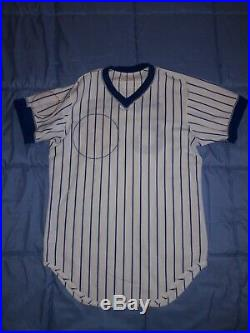Vtg 44 Wilson 1985 Chicago Cubs #53 Home Game Jersey Player Used Worn