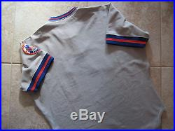 WOW! RARE VTG! New York Mets Authentic Game Used Worn RAWLINGS Jersey 48
