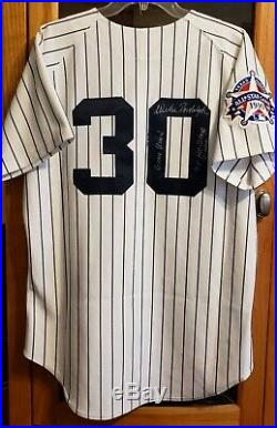 Yankees Willie Randolph Signed & Inscribed GAME USED WORN All Star Jersey LOA