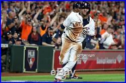 Yuli Gurriel 2018 Astros Game Used ALDS/ALCS Home Jersey Postseason MLB 4 Games