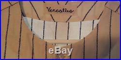 Zoilo Versalles 1967 Minnesota Twins Pinstripe Jersey-1965 AL MVP-Baseball-COA
